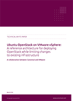 A reference architecture for implementing OpenStack on VMware vSphere