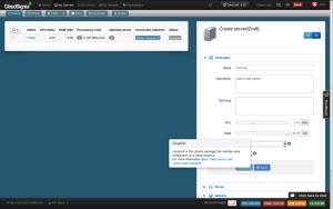 Cloud Sigma -CloudInit interface