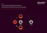 How Ubuntu OpenStack makes the cloud work for telcos and SPs