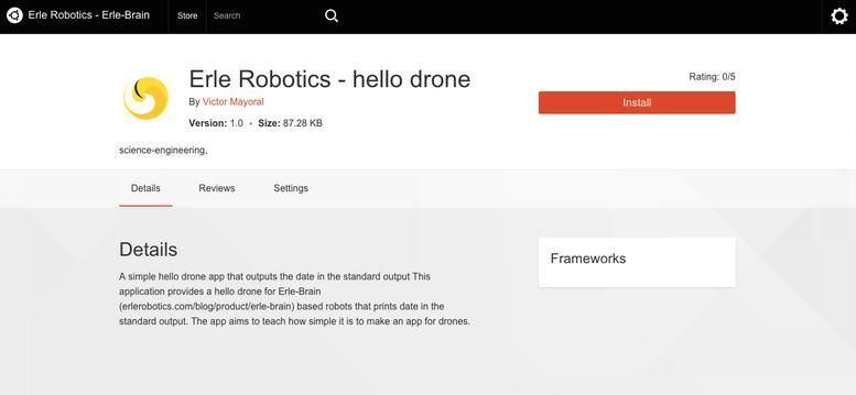 erlerobotics-hello drone