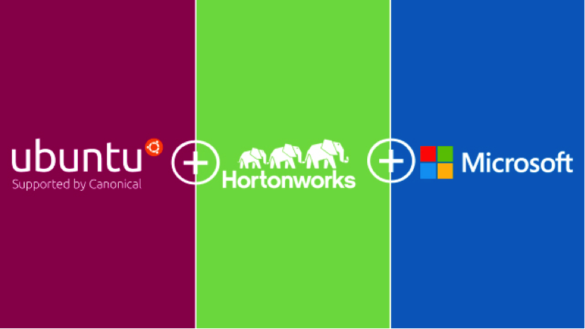 Ubuntu+ HortonWorks + Microsoft
