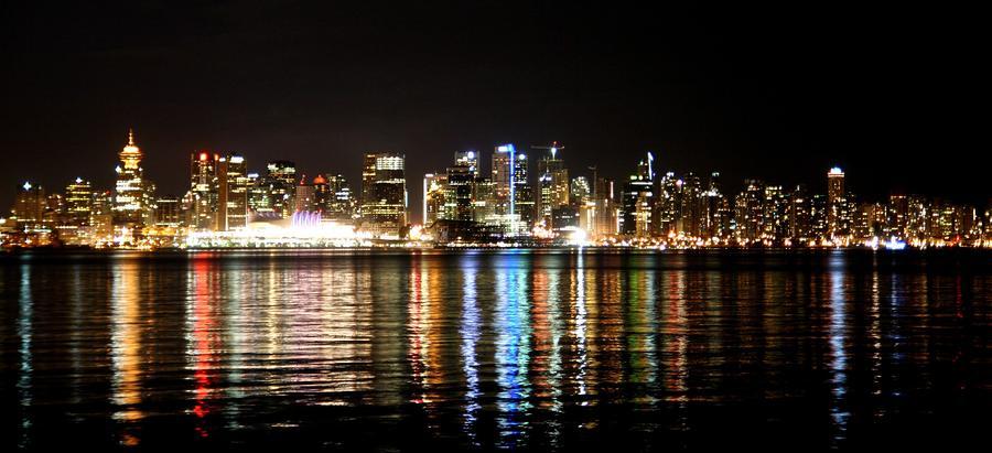 Vancouver Skyline by Jeremy Martel