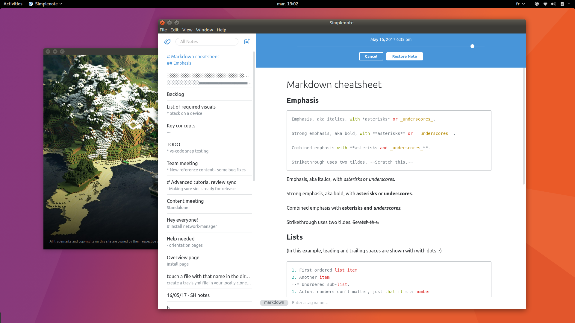 Simplenote gives a new life to your notes