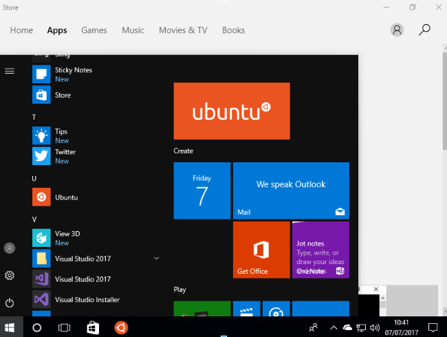 Windows 10 loves ubuntu ubuntu insights if you get stuck fear not and join the community of wsl users use askubuntu or github or stackoverflow please enjoy running ubuntu bash terminal apt stopboris Image collections