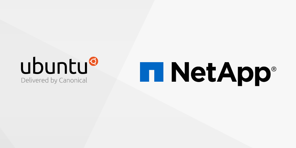 Ubuntu partner with NetApp