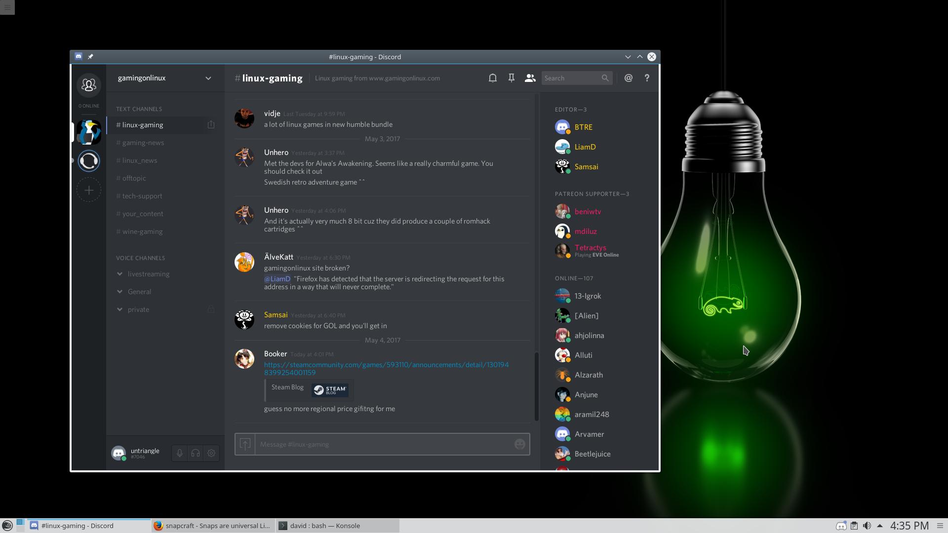how to download discord oin ubuntu