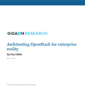 Architecting OpenStack for enterprise reality