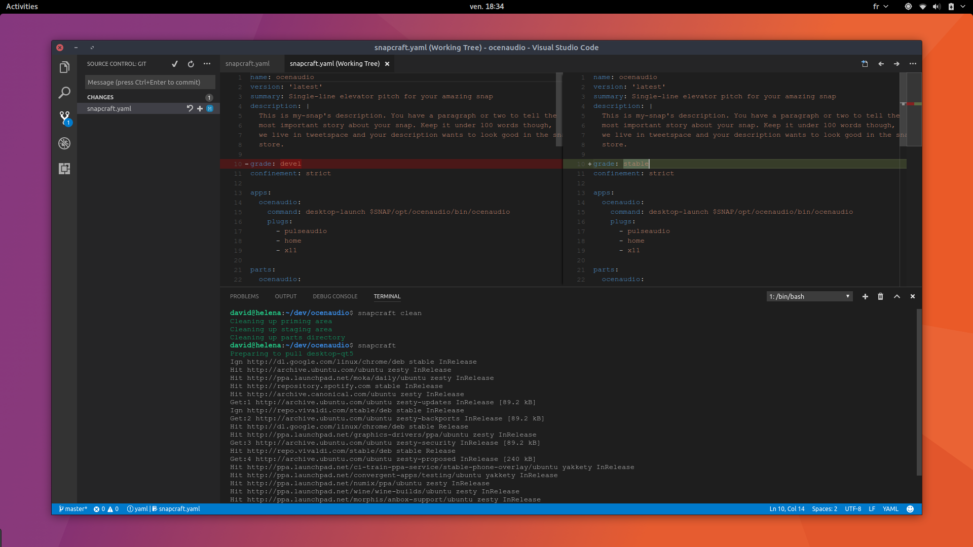 Visual studio code is now available as a snap on ubuntu ubuntu share or save stopboris Image collections
