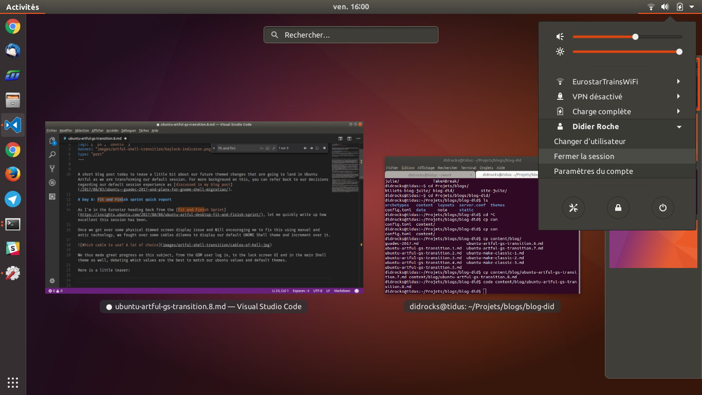 Ubuntu desktop weekly update august 25 2017 ubuntu insights we have made lots of changes to the gnome shell theme the gdm theme and the ubuntu gtk themes stopboris Image collections