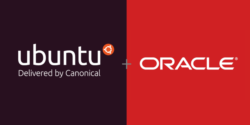 Oracle and Canonical Logo Image